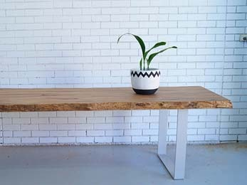 Timber tables from Platinum Outdoors in Perth