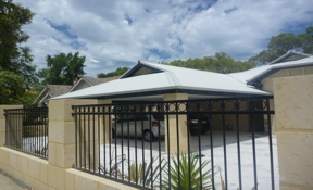 Example of a carport built by Perth builders Platinum Outdoors